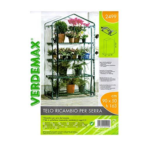 VERDEMAX 2499 Fogli di Ricambio per Serra Azalea Grande a 4 Ripiani