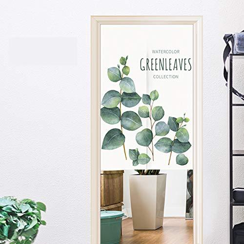 FR&RF Dekorative Stoff-Türvorhänge Haushalt Jalousien Japanische Halbgardinen Schlafzimmer Wohnzimmer Küche Badezimmer Eingangstürvorhänge, Scheiben, 85*120