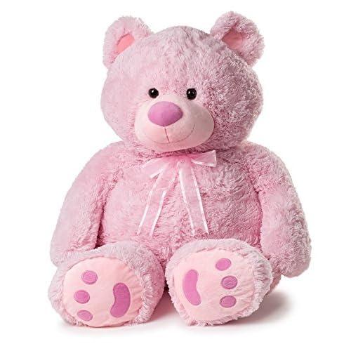 14b38d137 Giant Pink Teddy Bear  Amazon.com