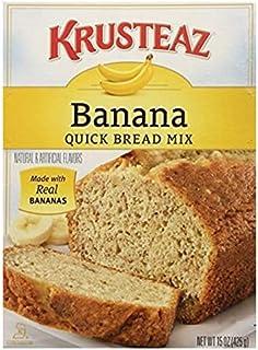 Krusteaz Banana Quick Bread Mix 15 OZ (Pack of 2)