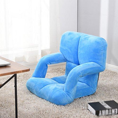 HCJLR FJXLZ® Pouf, avec accoudoirs Lit Fauteuil Chaise d'ordinateur Pas de Jambes Petit canapé Pliable, Amovible Sacs de Haricot Paresseux Faut (Couleur : #3)