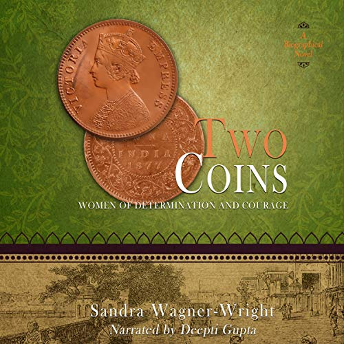 『Two Coins: A Biographical Novel』のカバーアート