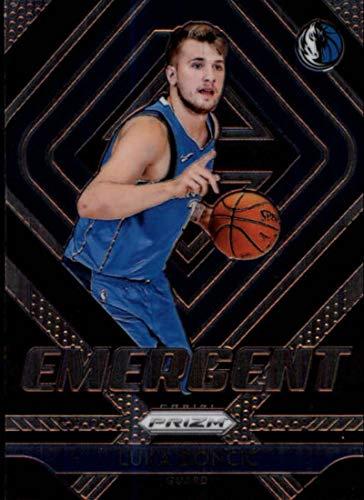 2018-19 Panini Prizm Emergent #3 Luka Doncic Dallas Mavericks RC Rookie NBA Basketball Trading Card