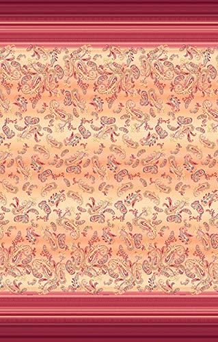 Bassetti Telo Arredo Granfoulard Copridivano | Gran Foulard per Divano in Cotone | Telo Copritutto, Vari Usi (Copriletto, Picnic, Tenda, Copritavolo) | Misura 350x270 Mod. Tosca - O1