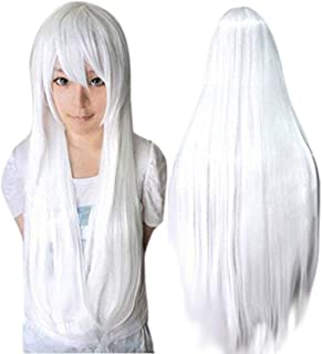 Best white cosplay wigs Reviews