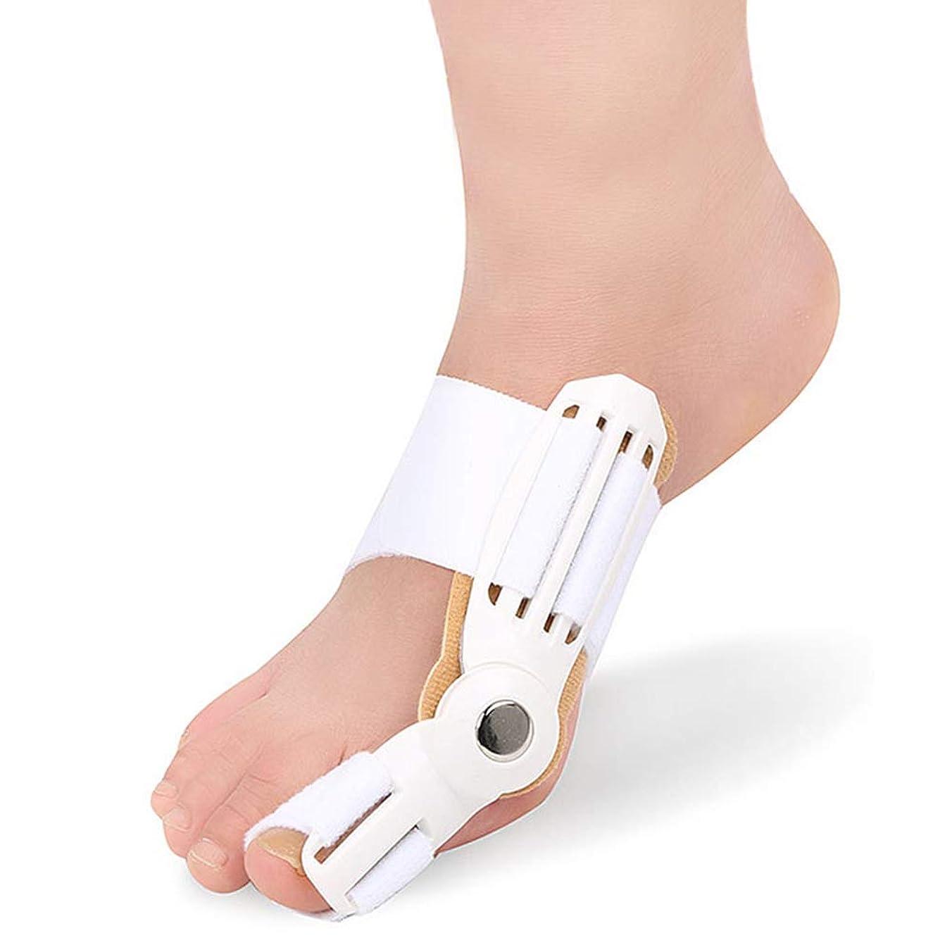 備品反抗可塑性つま先セパレーターは、ヨガのエクササイズ後のつま先重なりの腱板ユニバーサル左右ワンサイズ予防の痛みと変形を防ぎます,白