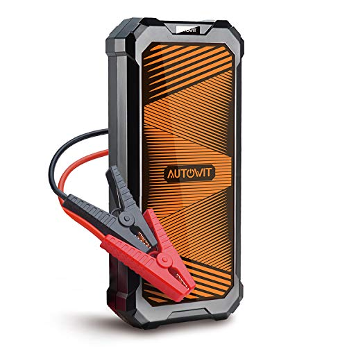 autowit SuperCap 2 Lite 12V Batteryless Jump Starter (Up to 5.0L Gas, 3.5L Diesel Engine) 700A Peak, Built-in SuperCap, No Need of Regular Charge, 10 Years Lifespan, Extremely Weather Operating