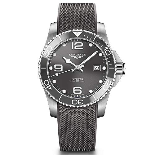 Longines Hydroconquest automatico orologio da uomo quadrante grigio...