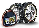 Compass Catene da neve per pneu 215/65 R17, 9x17mm, Omologate TUV (130), 1 paio