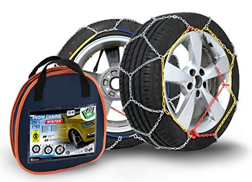 Compass Chaînes Winter à Neige pour pneus 295/30 R18 Certifié ÖNORM et TÜV (x130) 1 Paire