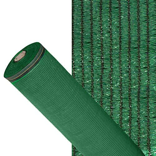 SIN MARCA 1190202 Sombra de malla, verde claro, 1,5 metros
