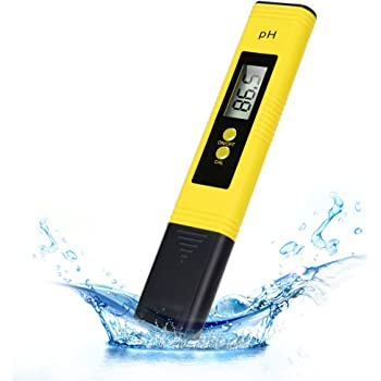 PH Meter Digital Water Tester, 0.01High Accuracy Water Quality Tester Pen with 0-14 PH Measurement Range for Drinking Water, Hydroponic Plant, Aquariums, Swimming Pools