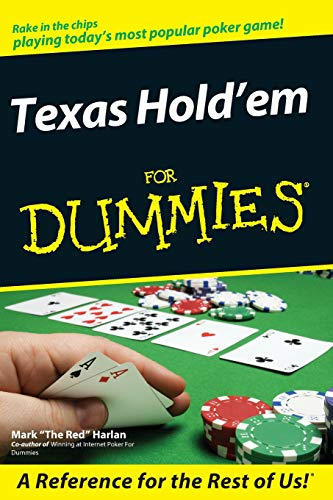 Texas Hold'em For Dummies (For Dummies Series)