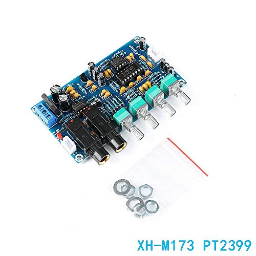 Best Price XH-M173 PT2399 Digital Microphone Amplifier Module Reverberation Board Karaoke AC 12V Pow...