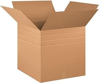 Aviditi MD202020 Multi-Depth Corrugated Box, 20