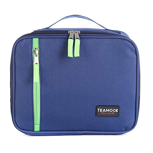 TEAMOOK Lunch Bag Insulated Lunch Box Cool Bag for Adults and Kids 5L Blue