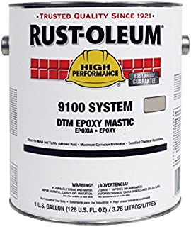 Rust-Oleum High Performance 9100 System DTM Epoxy Mastic- Safety Red, 2-Gallon Kit