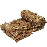 Oarea - Red de camuflaje para sombrilla de caza, desert camo, 4x5M(13x16.4ft)