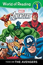 These are The Avengers Level 1 Reader (World of Reading)