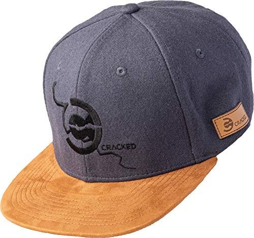 Cracked | Snapback Cap | Bright Brown - Rock | Wolle-Polyester-Mix | Herren | Frauen | Unisex | One Size