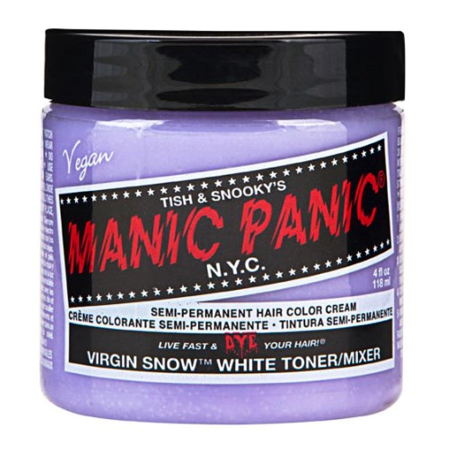 ベルダイヤモンド思春期のスペシャルセットMANIC PANICマニックパニック:Virgin Snow (ヴァージン?スノー)+ヘアカラーケア4点セット