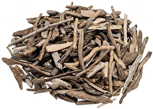 *NaDeco Treibholz Natur 3-7cm Dekoholz Driftwood Schwemmholz Deko Holz Schwemmhölzer Deko Treibholz*