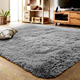 LOCHAS Area Rugs for Living Room, Fluffy Shaggy Super soft Carpet Suitable as Bedroom Rug Home Decor Nursery Rugs Kids Mat, Christmas Rug, for Thanksgiving & Holiday, 120 X 160cm