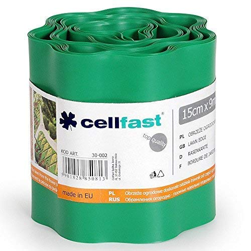 Cellfast 5901828850813 Rasenkante, Grün, 0.422x0.422x0.1 cm
