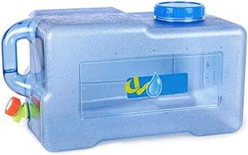Contenedor de Agua con Grifo Camping Fria al Aire Libre 25L Bidón de Agua Alimentario Tanque de Almacenamiento Agua de Múltiples Funciones Recipiente Agua Libre Portátil Se Puede para Almacenamiento