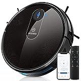 MOOSOO Robot Vacuum, Wi-Fi Connectivity, 120 Min Runtime Self-Charging Robotic Vacuum Cleaner,...