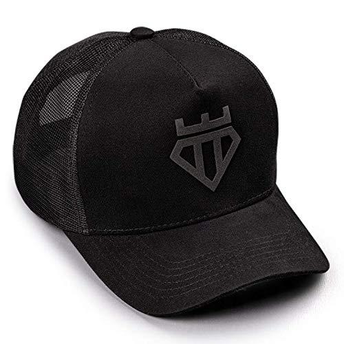 Boné Trucker All Black Trendboys Diamond Aba Curva