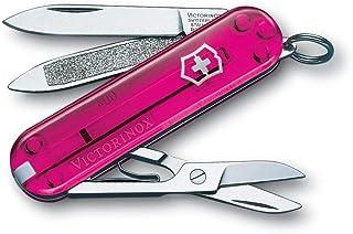 Victorinox Classic, Rosa, Acero inoxidable, 7 funciones