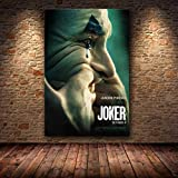 muyichen Joaquin Phoenix Poster Prints Joker Poster Movie 2019 DC Comic Art Canvas...