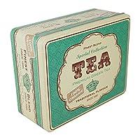 Boîte à thé à rétro vintage