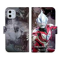(C)TSUBURAYA PROD. iPhoneX 手帳型ケース 「ウルトラマンジード & ウルトラマンオーブ & ジャグラス ジャグラー シリーズ」: ウルトラマンジード