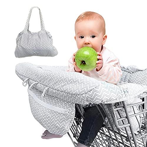 Cubiertas de asiento reutilizables impermeables extraíbles Cubierta de compras para bebé plegable Cubierta de seguridad para bebés Asientos de seguridad para bebés Magas de silla para niños 2 en 1 Ant