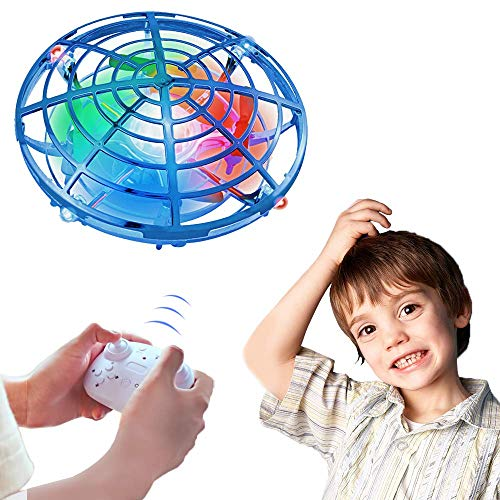 ONG NAMO Flying Toys, Drone for Kids Boys Toys Remote Control Flying Toys RC Flying Ball with 2 Speed Models for Birthday Gifts for Kids Toddlers Boys Girls