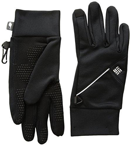 Columbia W Trail Summit Running Glove Guantes, Mujer, Negro, Talla M