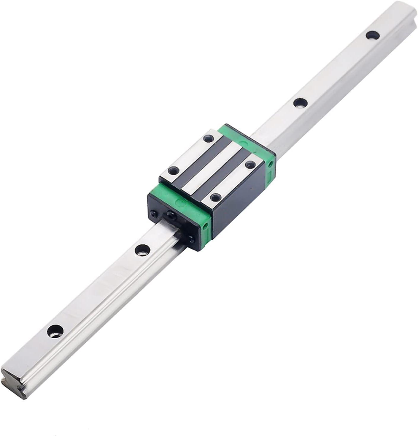 3D Print Parts CNC Router Linear 1pc Guide HGR20-L-300mm+1p Rail New sales Louisville-Jefferson County Mall