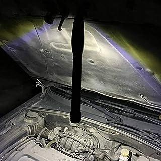 OUZHOU LED-arbetslampa, USB COB ficklampa COB ljusremsa ficklampa 400 lm med stativ uppladdningsbar för bilreparationer, h...