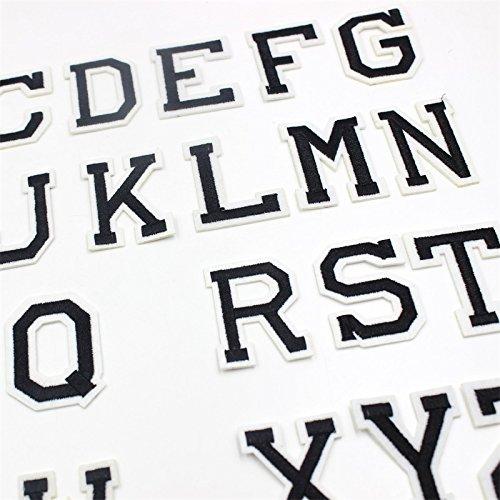 Miniblings 26x Lettres initiales Alphabet ABC Patch correctif Lettre