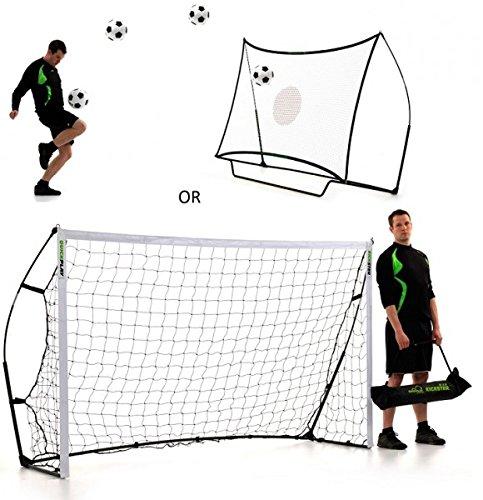 Quick Play - Kickster Combo - Fußballtor/Rebounder