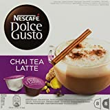 Nescafé Dolce Gusto Chai Tea Latte, Pack of 3, 3 x 16 Capsules (24 Servings)
