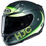 Casco de moto HJC RPHA 11 BINE MC4HSF, Negro/Amarillo, XS