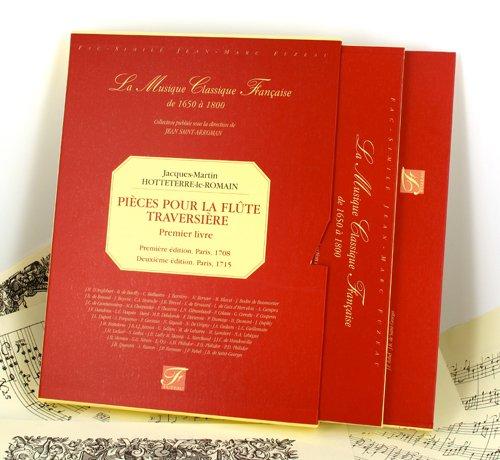 Pièces pour la flûte traversière - Premier livre (1708-1715)