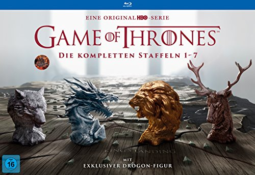 Game of Thrones: Die kompletten Staffeln 1-7 als Ultimate Collector's Edition (exklusiv bei Amazon.de) (Limited Edition) [Blu-ray]