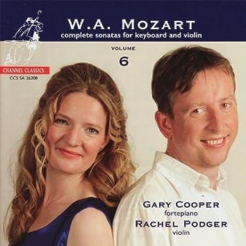Mozart: Complete Sonatas for Keyboard and Violin Vol. 6