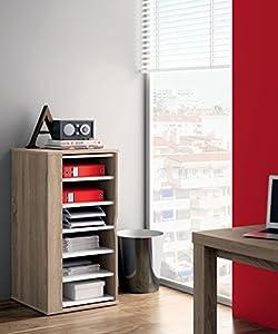Armario auxiliar zapatero multiusos giratorio 270º color cambrian para almacenamiento de cocina, oficina, entrada o dormitorio. 60cm altura x 47cm ancho x 47cm fondo