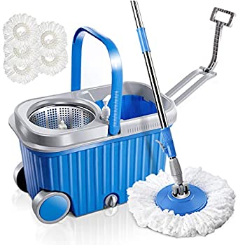 Microfiber Spin Mop and Bucket Review