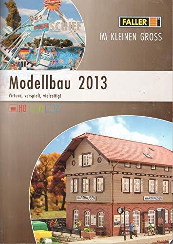Faller Modellbau 2013 Katalog